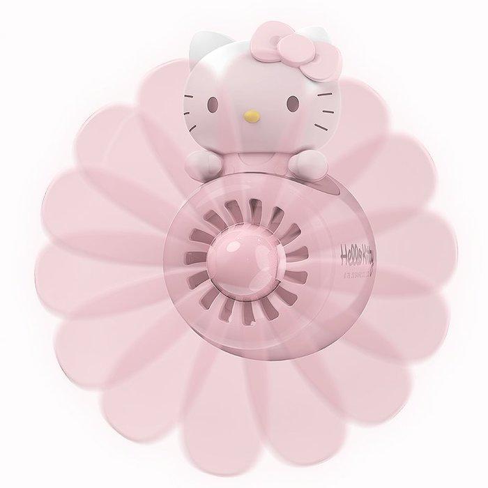 車載香水 Hello Kitty車載香水持久淡香出風口香薰汽車香膏固體車內除味