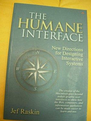 The Humane Interface jef raskin 9780201379372 UI User使用者介面z2