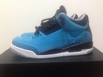 NIKE AIR JORDAN 3 RETRO POWDER BLUE US10.5