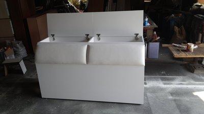 家具訂做 上掀床頭箱 可訂做 可改色