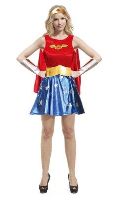 乂世界派對乂 萬聖節服裝,萬聖節道具,變裝派對,大人變裝服/神力女超人服裝