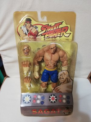 街頭霸王 sota toys street fighter SAGAT