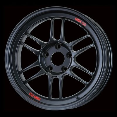 日本 Enkei 鋁圈 Racing RPF1 黑色 18吋 100 114 五孔 5/100 5/114
