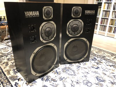 YAMAHA NS 1000M 賣了幾十萬對的錄音室用 三音路監聽  鈹振膜