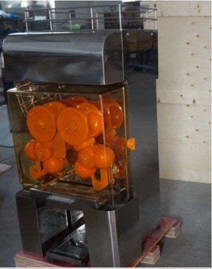 新研發全自動柳丁/檸檬/桔子榨汁機,現榨現賣最新鮮