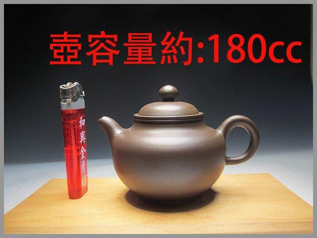 《代朋友賣清倉壺》152早期手拉坯小掇球壺【章燕明製】單孔出水、約180cc、此壺沒鑑賞期!