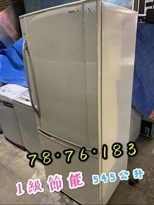 平鎮二手家具-二手電器2手冰箱、國際牌525公升電冰箱、一集節能冰箱、冰箱回收買賣