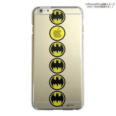 尼德斯Nydus~* 日本正版 DC 超級英雄 正義聯盟 蝙蝠俠 透明款 手機殼 5.5吋 iPhone 6+ Plus