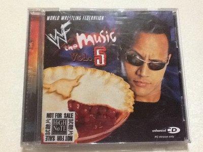 ~拉奇音樂~世界摔角聯盟系列WORLD WRESTLING FEDERATION VOLUME5 二手片況新內附貼紙。2