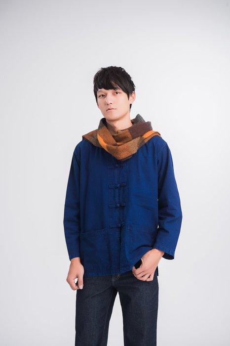 !(中國藍Anewei)客家藍衫/唐裝/對襟衫/上衣~MLXLXXL~另有長䄂唐裝上衣