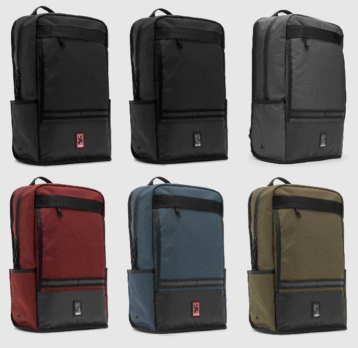 { POISON } CHROME HONDO 筆電專屬空間 全防水日常型雙肩後背郵差包 最新設計中型包款