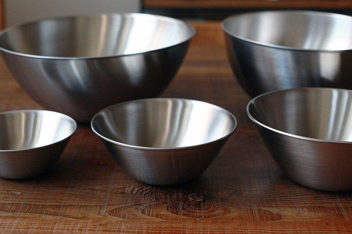 發現花園 日本選物~日本製 柳宗理 不鏽鋼 霧面 調理盆 沙拉碗 缽 ~16公分