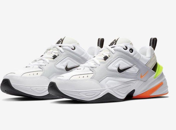 【Cheers】 Nike M2K Tekno AV4789-004  全白 白橘 黃 黑白 男鞋 老爹鞋 增高 限量