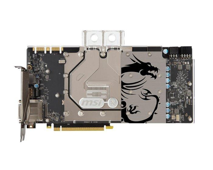 現貨 MSI微星GeForce GTX 1080 SEA HAWK EK X 福利品原廠保固4年 現貨不必等