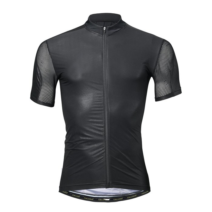 【ILPALADINO】競技型男士短袖車衣 :: 黑