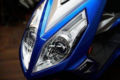SYM NEW FIGHTER NFT 6代 遠近魚眼HID大燈模組改裝 LED內外光圈 天使眼 惡魔眼 電鍍飾圈