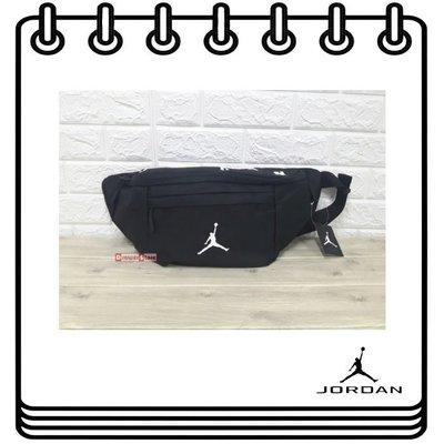 【Drawer】NIKE JORDAN Jumpman Crossbody 黑 腰包 側背包 喬丹 9A0242-023