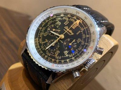 BREITLING 百年靈 A11022.1稀有錶 透背 世界限量400支