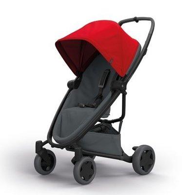╭◇娃娃屋◇╮◇◇Quinny荷蘭◇Zapp FLEXPLUS旗艦版四輪(紅色)贈原廠雨罩及MAXI-COSI提籃 ◇