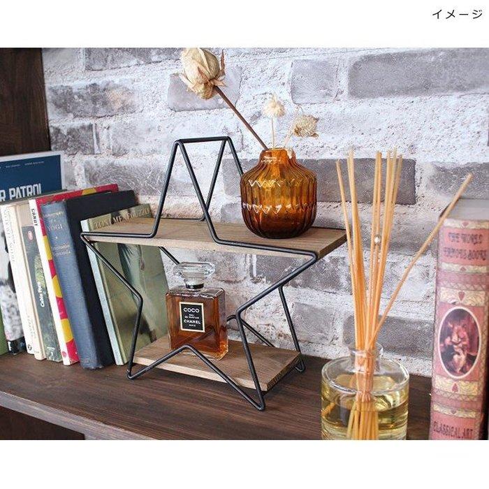 《齊洛瓦鄉村風雜貨》日本zakka雜貨 日本星星造型收納架 桌上收納架 調味罐收納架 小東西收納架