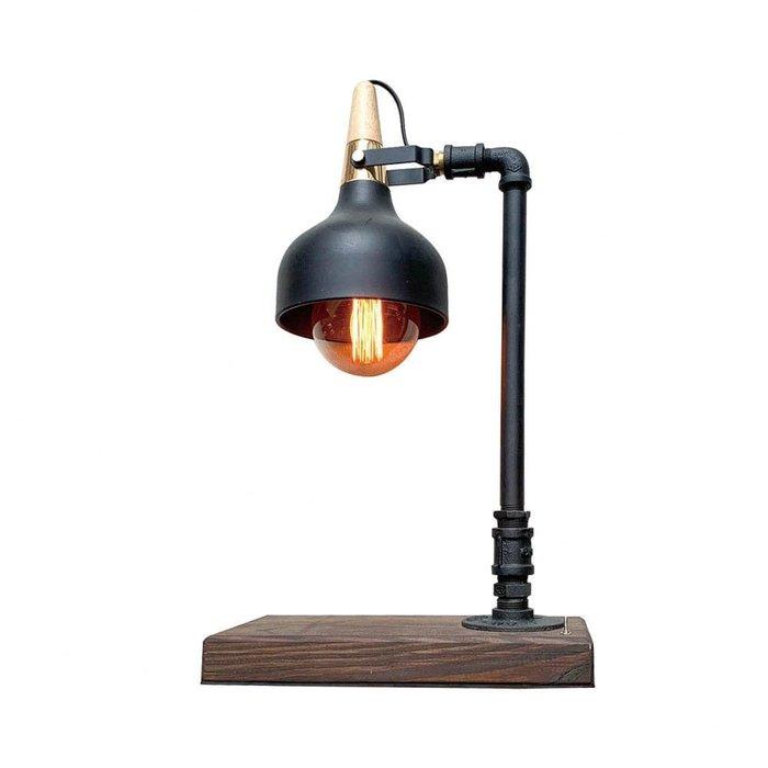 【曙muse】現代工業風質感桌燈 原木質感桌燈 造型檯燈 Loft 工業風 商店居家必選款 咖啡廳 民宿 餐廳 住家