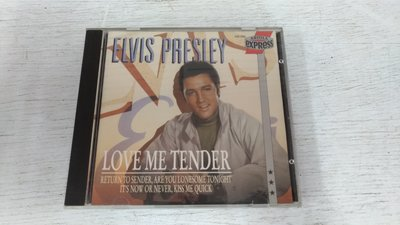 書皇8952:專輯 D6-2de☆1989年『Love Me Tender』《Elvis Presley》295 052