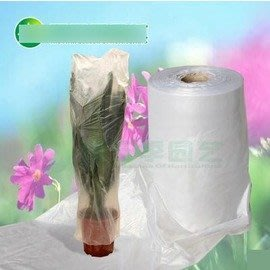 【套花袋-塑膠-寬度45cm(袋口徑28)-820米/ 卷-1卷/ 組】套花袋 套花膜 護花膠袋 包花膜-5101011