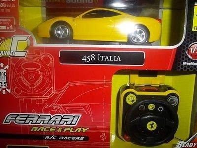 {極速世界} 1:36國際正版 法拉利手表遙控車 458 ITALIA 最新空運到!!!! 台南市