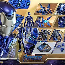 Hot toys Pepper Rescue Ironman Avengers Endgame Infinity War平民首日單 28/5