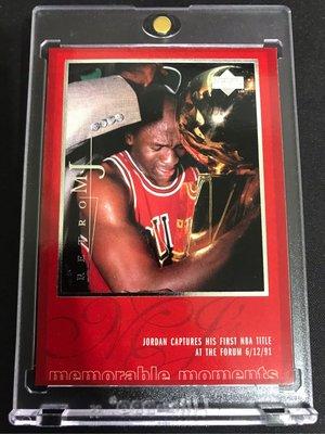 🐐1998-99 Upper Deck MJ Career Collection MJ Retro #48 Michael Jordan
