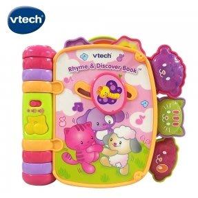 Vtech-動物世界音樂翻翻書-粉(27550)