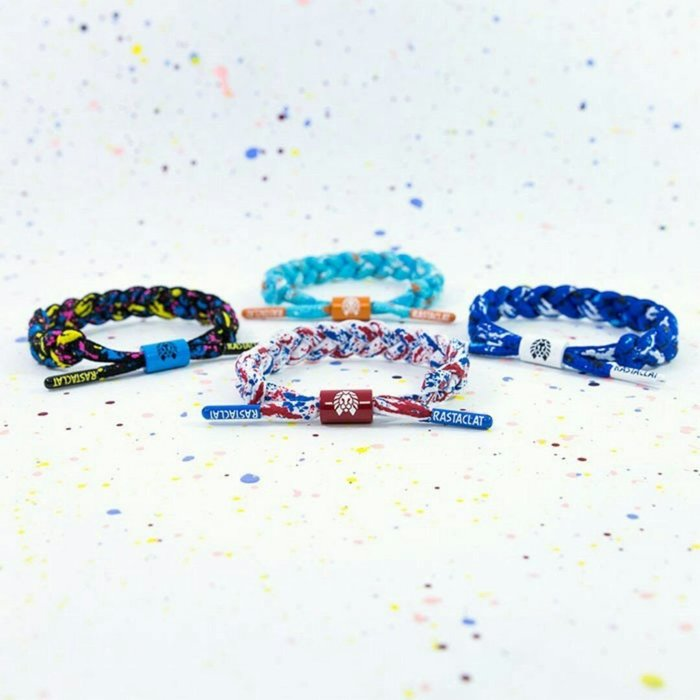 新品上市~RASTACLAT美國加州品牌~(潑漆個性)編織手環