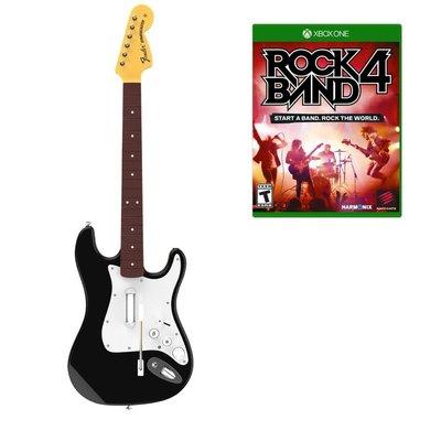 全新 X1 Xbox 1 Rock Band 4 & Rockband 專用 Guitar (US 連結他套裝)- 開P夾BAND必備