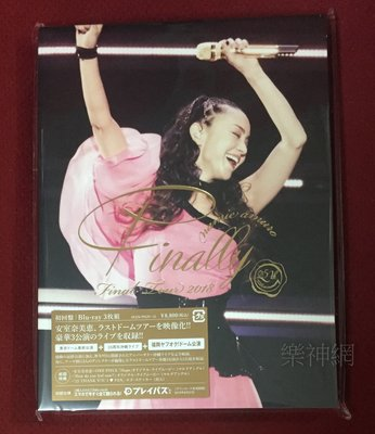 安室奈美惠namie amuro Final Tour 2018 Finally日版藍光Blu-ray+福岡巨蛋公演