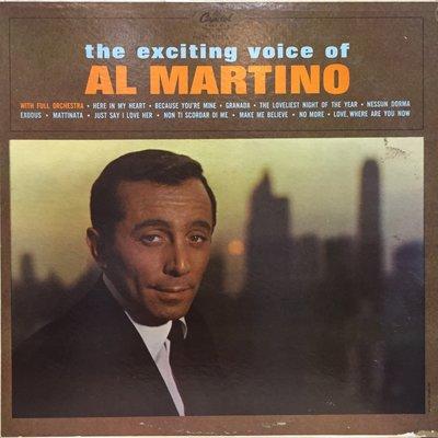§小宋唱片§ 美版/Al Martino-The Exciting Voice Of Al MartIno/二手西洋黑膠