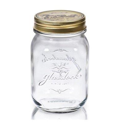 《享購天堂》Glasslock韓國經典玻璃密封罐1000ml 沙拉罐 梅森瓶 手工果醬瓶 咖啡豆罐 筆筒 玻璃杯