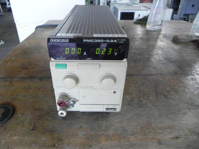 Kikusui PMC350-0.2 電源 PMC350-0.2A 0~350V 0.2A REGULATED