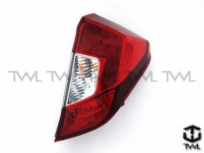 《※台灣之光※》全新HONDA新飛度FIT 17 16 15 14年原廠型LED紅白後燈尾燈