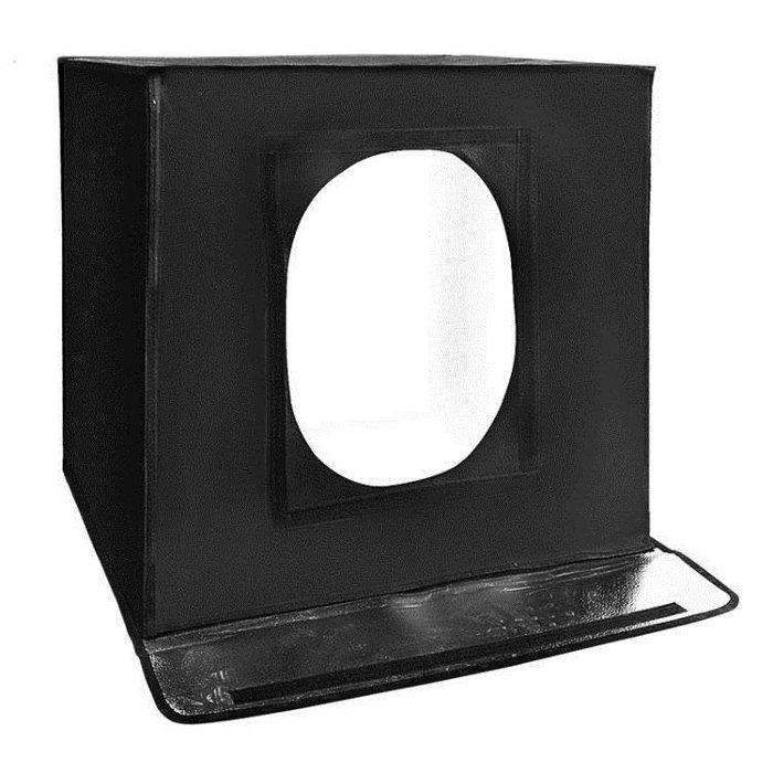 LED攝影棚 小型套裝迷你淘寶拍攝拍照燈箱柔光箱簡易攝影道具40cm