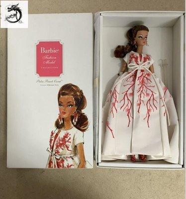 九州動漫芭比 Barbie Palm Beach Coral Silkstone 2010 紅珊瑚ST