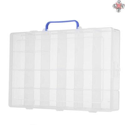 現貨~促銷~嚴選~TOP 20格帶手提可拆塑料盒pp塑膠盒電子元件收納盒SYC-215~X5D82640