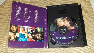 【李歐的二手洋片】銷售版 近全新 黃金版 湯姆克魯斯 妮可基嫚 大開眼戒 DVD 下標就賣