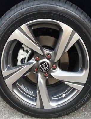 全新納智捷U6原廠18吋鋁圈.提前找買家.5孔114.3....URX也是同規格