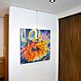 聚鯨Cetacea﹡Art【Untitled / Hughes】進口油畫 無框畫 手繪油畫 花