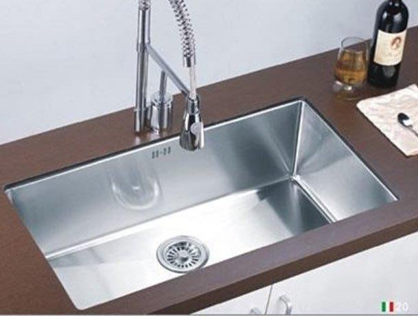 85X45公分 304不鏽鋼 時尚 水槽 (8545)