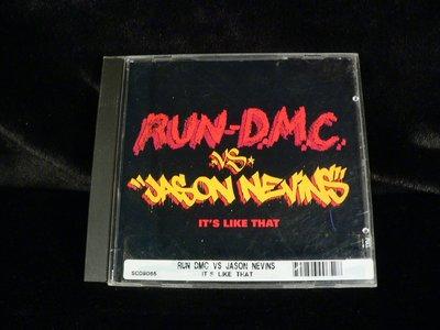 乖乖@賣場~二手CD~RUN-DMC VS.Jason Nevins - Its Like That.PK317