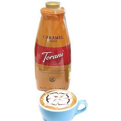特朗尼焦糖裝飾淋醬- 64OZ/罐--【良鎂咖啡精品館】