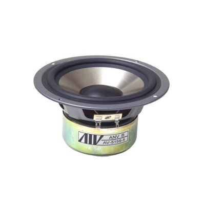 ANV DIY 音響 喇叭 中低音 單體 5.25吋 鋁鎂合金  阻抗8歐姆(SP-S050803W)一個 新北市
