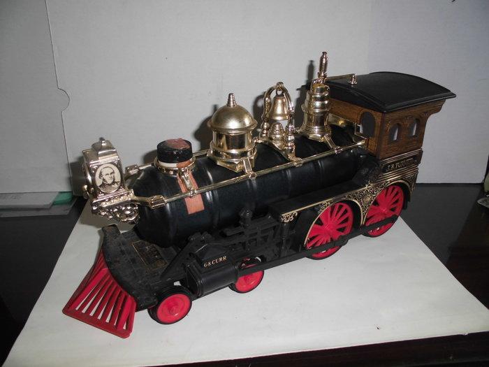 蒸汽老火車頭空酒瓶(美國製)