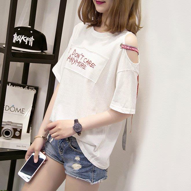 FINDSENSE G6 韓國時尚潮流 2019夏季新款大尺碼大版短袖圓領T恤短袖寬鬆T恤女